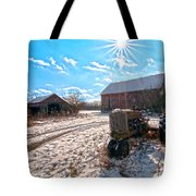 Light Still Shines But Good Times Gone Tote Bag