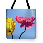 Light Stream Tote Bag