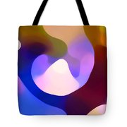 Light Through Branch Tote Bag by Amy Vangsgard