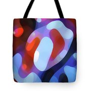 Light Through Fall Leaves Tote Bag