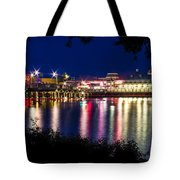 Light Through The Trees Tote Bag