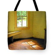 Light Through The Window Tote Bag