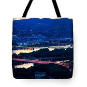 Light Time On Donau Tote Bag