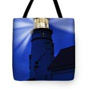 Light Up The Sea Tote Bag