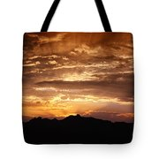 Light Up The Sky  Tote Bag
