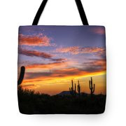 Light Up The Sky Southwest Style  Tote Bag