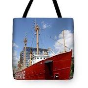 Light Vessel Baltimore Harbor Tote Bag