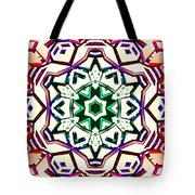 Light Wave Tunnel Tote Bag