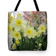 Light Yellow Daffodils Tote Bag