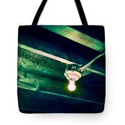 Lightbulb And Cobwebs Tote Bag