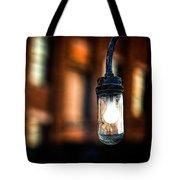 Lightbulb Bates Mill #5 Tote Bag