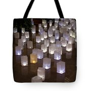 Lighted Lantern Bags Tote Bag