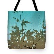 Torquoise Haiku Tote Bag