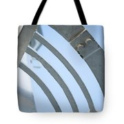 Lighthouse Abstract Tote Bag