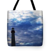 Lighthouse At Cape May Nj Tote Bag