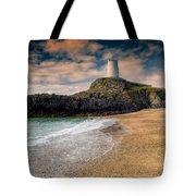 Lighthouse Beach Tote Bag