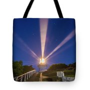 Lighthouse Beams By The Southern Cross Tote Bag