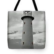 Lighthouse Bnw Auckland Tote Bag