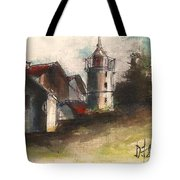 Lighthouse By Day Tote Bag