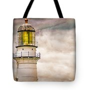 Lighthouse Cape Elizabeth Maine Tote Bag