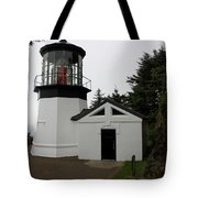 Lighthouse Cape Meares Tote Bag