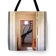 Lighthouse Door Tote Bag