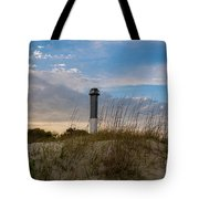 Lighthouse Dunes Tote Bag