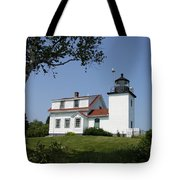 Lighthouse Fort Point Tote Bag