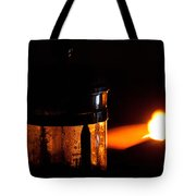Lighthouse French Press Tote Bag