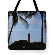 Lighthouse From Afar Tote Bag