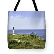Lighthouse From Salal Hill Tote Bag