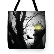 The Lighthouse Is Lit  Tote Bag