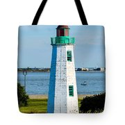 Lighthouse Hdr Tote Bag