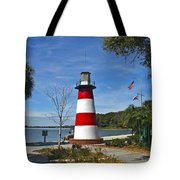 Lighthouse In Mount Dora Tote Bag