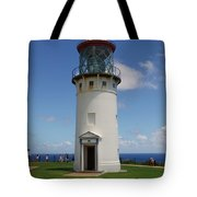 Lighthouse In Paradise Tote Bag