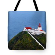 Lighthouse In The Sky Tote Bag