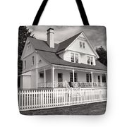 Lighthouse Keepers House  Tote Bag