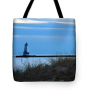 Lighthouse Lit Tote Bag