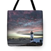 Lighthouse Maria Pia Tote Bag