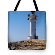 Lighthouse On Cap De Barbaria On Formentera Tote Bag