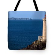 Lighthouse On The Coast, Phare Du Petit Tote Bag