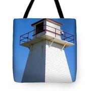 Lighthouse Pei Tote Bag