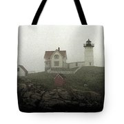 Lighthouse - Photo Watercolor Tote Bag