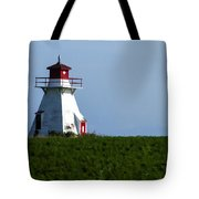 Lighthouse Prince Edward Island Tote Bag