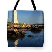 Lighthouse Reflected Tote Bag