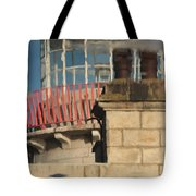 Lighthouse Reflection Tote Bag