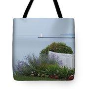 Lighthouse Sodus Bay New York Tote Bag
