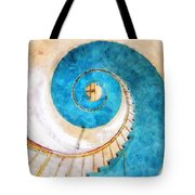 Lighthouse Staircase Tote Bag