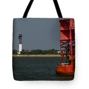 Lighthouse To Buoy Tote Bag