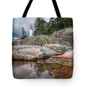 Lighthouse Top Tote Bag